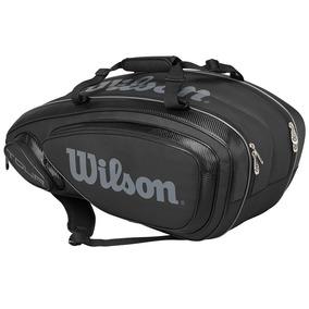Maleta Negra 9 Pack Wilson Tour Accesorio Tennis