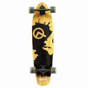 Patineta Quest Rorshack Bamboo Skateboard 34 Pulgadas