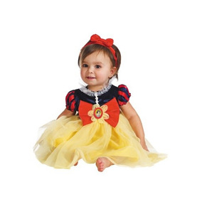 Disfraz Bebe Blanca Nieves Niña Halloween Mod1