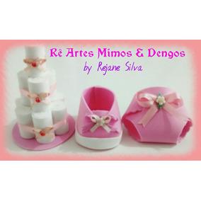 Kit Para Chá De Bebê - Lembrancinhas - Convites