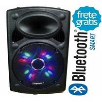 Caixa Som Ecopower Ep:1903 Sub15 400w Rms Bluetooth
