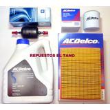 Kit Aceite+3 Filtros Nafta Aceite Aire Chevrolet Corsa Agile