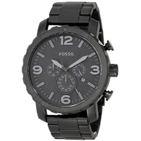 Reloj Fossil Nate Jr1401 Negro