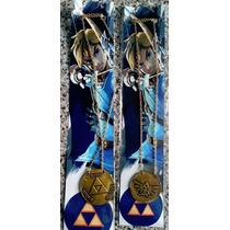 Collar Medallón Zelda Metálico