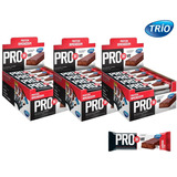 Kit 3 Cx Pro 30 Vit Bar Protein Trio - Amendoim