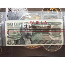 Fajilla De 3 Mil Pesos Con Billetes Del Banco De México