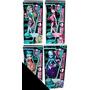 Monster High Skull Shores Serie De 4 Muñecas Diferentes