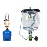 Lampiao Gas Para Botijão P2 2kg Camping Pesca Sitio Lanterna