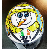 Capacete Agv Pista Gp Rossi Winter Test 2016