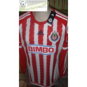 Jersey adidas Chivas Rayadas Guadalajara 2016 Manga Larga