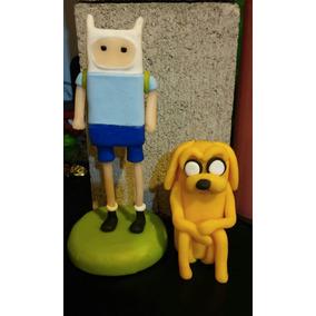 Jake Y Finn Hora De Aventura, En Porcelana Fría !