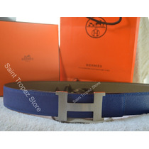 Cinto E Fivela Hermes 42mm Constance 2 Reversível Original