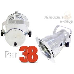 Refletor Par 38 P/ Iluminação De Palco Polido Pronta Entrega