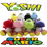 Pelúcia Yoshi Mario Bros Grande 30cm
