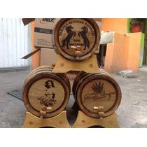 Barril De 10 Lts. Desde Tequila, Personalizado ,roble Blanco