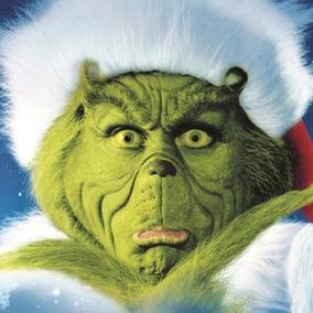 Protesis De Latex El Grinch / Navidad - Mascara