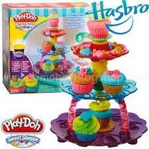 Play Doh Massinha Doces Criações Torre De Cupcakes - Hasbro