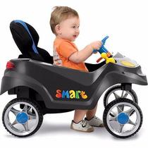 Carrinho Smart Baby Comfort Graffiti E Azul - Bandeirante #