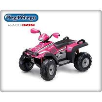 Quadriciclo Polaris Sportsman 700 Twin 12v - Pink Peg Pérego