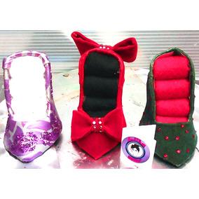 joyero en forma de zapato chico para decorar y regalar