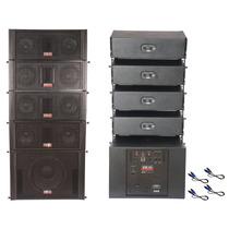 Blg Rla1265a Sistema Audio Line Array Activo 2000w 4 Bafles