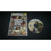 Grand Theft Auto San Andreas Sin Instr Para Xbox Normal