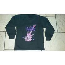 Buzo Violetta Disney Talle 6 Nuevo!!!