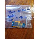Placa Do Chip E Botoes Lg - P970h Original