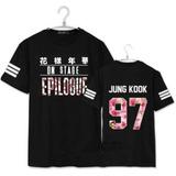 Camisa Camiseta Unissex Kpop Bts Jung Kook 97 Epilogue !!