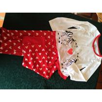 Pijama De Niñas Talla 2años , 3 Años Y 4 Años