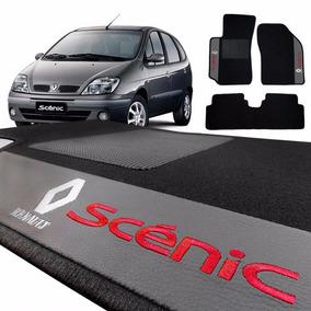 Jogo De Tapete Carpete Automotivo Bordado Renault Scenic