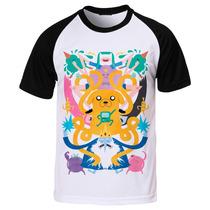 Camiseta Raglan Hora De Aventura Adventure Time