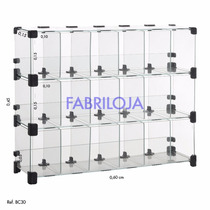 Baleiro -display P/ Balcão De Vidro Temperado- Expositor