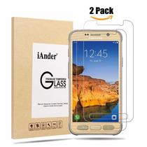 Protector De Pantalla Samsung Galaxy S7 Active Not Fit 2 Pac