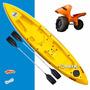 Kayak Triplo Atlantikayak 1 2 3 Personas Carro Regalo Initio