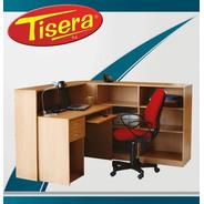Puesto De Trabajo Recepcion L Ejecutivo  Tisera Pc Pdr-10
