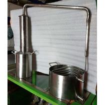 Destilador De Acero Inox Para Esencias Y Aceites