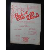 Partitura Bajo El Cielo De Paris Hubert Giraud - Vals