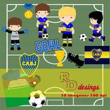 Kit Imprimible Boca Juniors 38 Imágenes - Png/jpg