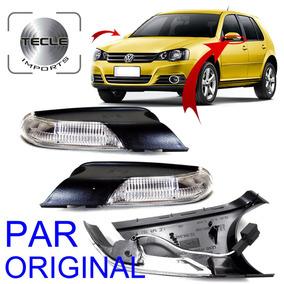 Par Pisca Retrovisor Golf Polo 2008 2009 2010 2011 Original