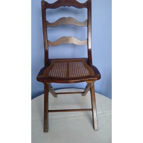 Cadeira Tesoura Dobrável - Vintage Raridade