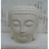 Maceta Buda En Bizcocho Cerámico Con Interior Esmaltado