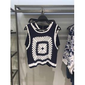 Blusa Crochet Zara