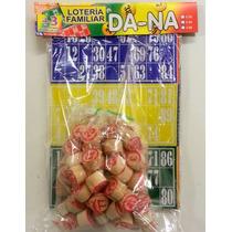 Bingo Loteria Familiar 90 Numeros 12 Cartones Juego De Mesa