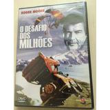 Dvd O Desafio Dos Milhões ( Roger Moore) Novo, Lacrado, Orig