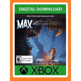 Tarjeta Max The Curse Of Brotherhood Xbox 360 Entrega Rapida