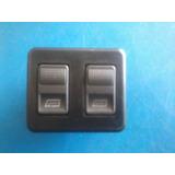 Botão Vidro Eletrico Duplo Universal E Escort Trw
