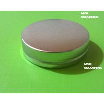 Latas Souvenirs X50 Und, De 5x1.5cm Para Personalizar