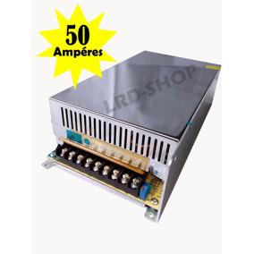 Fonte Estabilizada 12v 50a Som Modulo Automotivo Bateria Etc