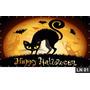 Halloween Painel 2,00x1,00 Frete Grátis Lona Banner Festa